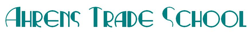 Ahrens Trade School Logo
