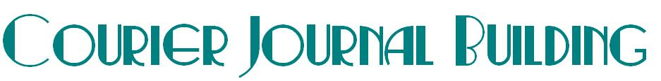 Courier Journal Building Logo