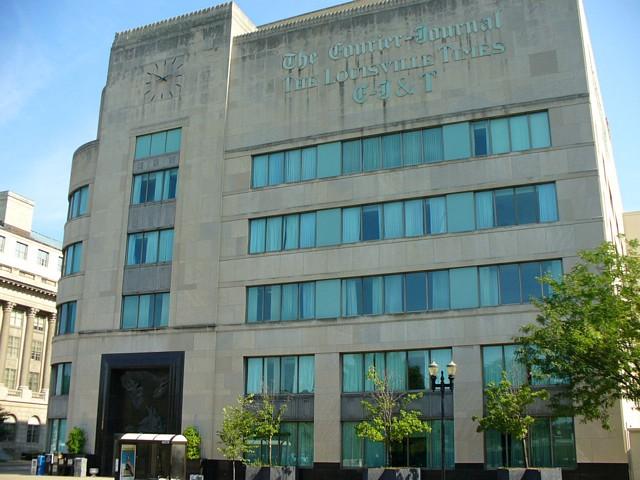 6205c595807a Louisville Art Deco - Courier Journal Building