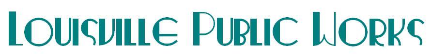 Louisville Public Works Building Logo