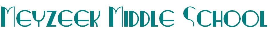 Meyzeek Middle School Logo