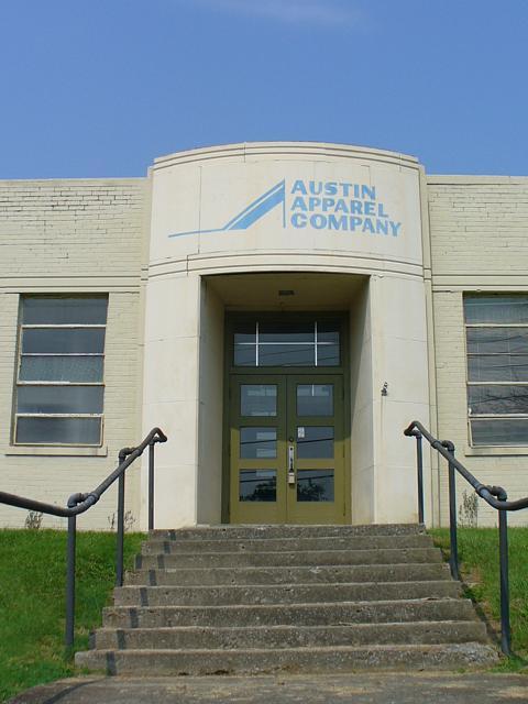 Louisville art deco springfield ky austin apparel company building
