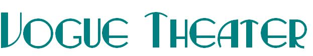 Vogue Theater Logo